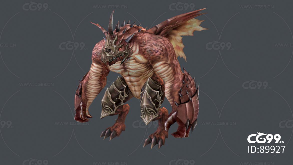 龙人战士怪物