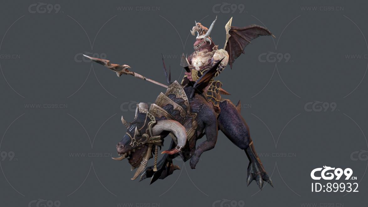 龙人骑士怪物