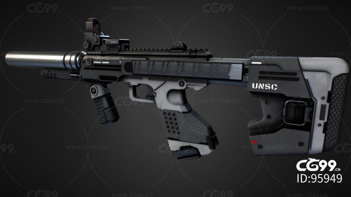 次时代写实武器枪械合集 狙击枪 科幻兵器