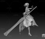 死亡爱丽丝3D打印模型