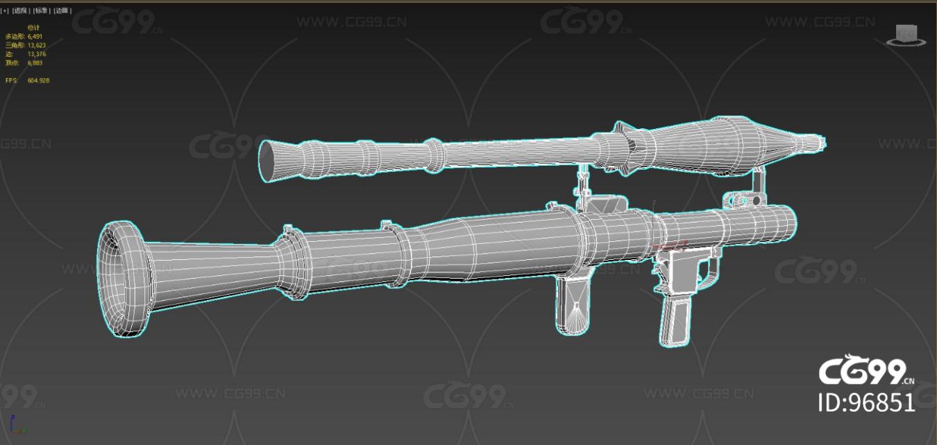 次时代 写实 枪械 老式火箭筒 二战