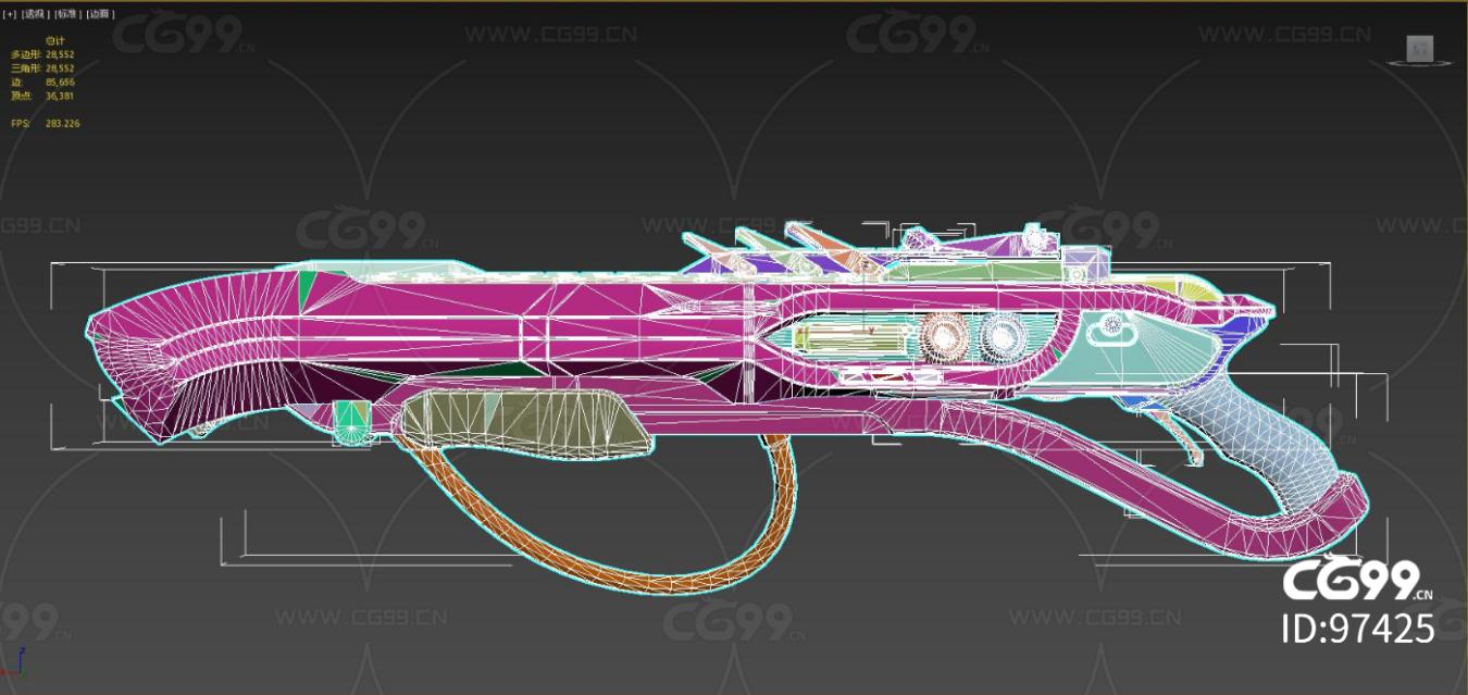 次时代 写实 未来枪械 Spineless激光枪