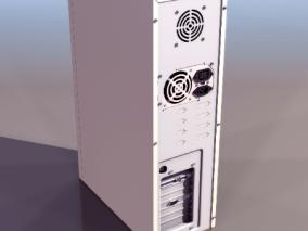 电脑主机cg模型