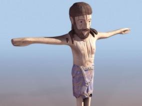 男人雕像cg模型