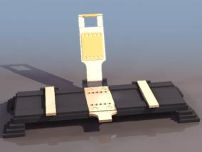 打孔机cg模型