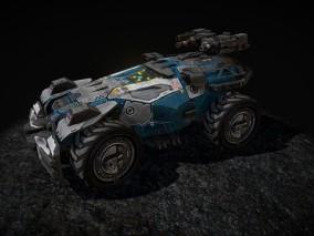 次时代科幻车辆载具cg模型