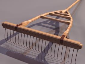 钉耙cg模型