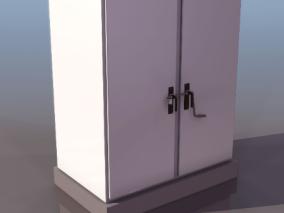 公共电箱cg模型