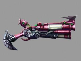 火枪cg模型