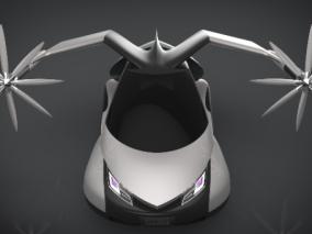 飞行汽车cg模型