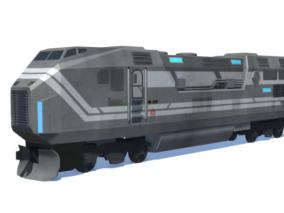 火车cg模型