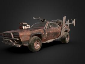 次时代写实车辆载具cg模型