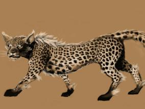 豹子cg模型