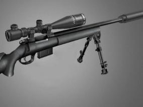 狙击枪cg模型
