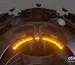次时代Modular UFO 3D模型
