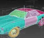 次时代 写实 车辆交通 载具 美式肌肉车