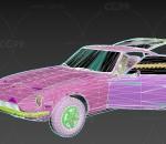 次时代 写实 车辆交通 小轿车 跑车 老尼桑260Z