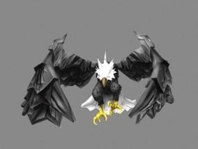 老鹰cg模型