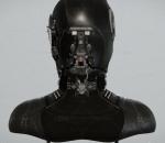 rank 3 police unit / 3级警察小队 机械 头颅 机器人