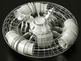 空间站3d模型