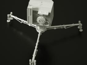 探测仪3d模型