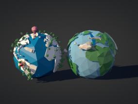 地球cg模型