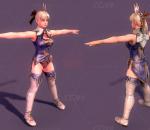 SOUL CALIBUR - Cassandra / 灵魂能力 卡桑德拉 角色 模型