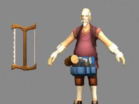 国风手游角色3d模型
