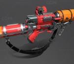 次时代PBR 未来 科幻 写实 武器 枪械 寒冰喷射器