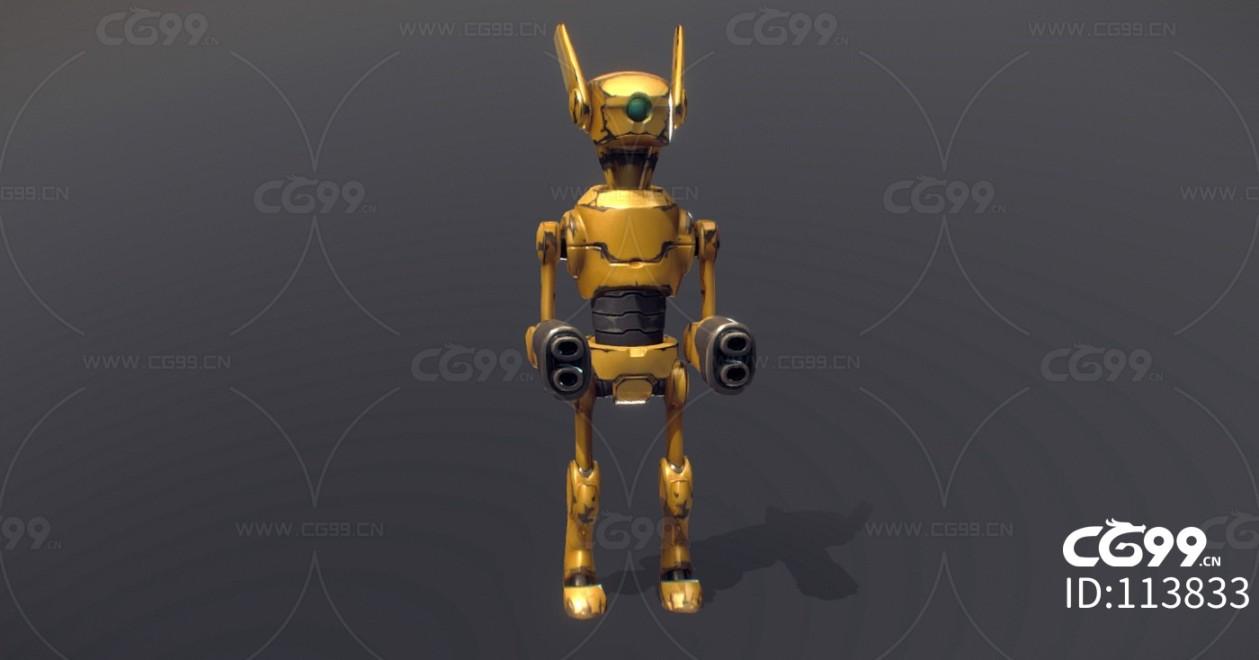 次时代PBR 科幻 未来 科技机甲 机器人