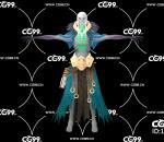 PBR 欧美 角色 游戏模型 骷髅大领主