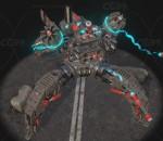 次时代PBR 科幻 未来 科技机甲 型号:四叶草