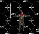 PBR 欧美 角色 游戏模型 骑士 圆桌骑士