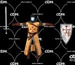 游戏模型 PBR 精美角色 剑士 战士