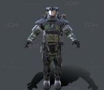 次时代PBR 未来 科幻 机甲 机械 武装机器人