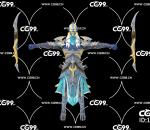 PBR 欧美 日系 游戏模型 精灵