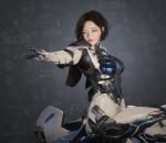 次时代PBR 写实 未来 科幻 运星一号 角色模型 带骨骼