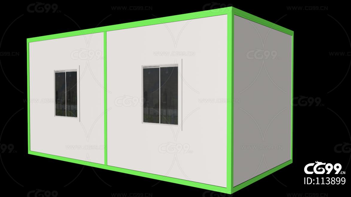 集装箱房建模