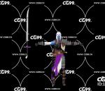 PBR 欧美 日系 游戏模型 武士 长刀 战士