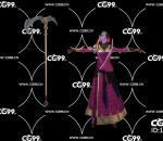 游戏模型 PBR 精美角色 镰刀 女武神 女武士