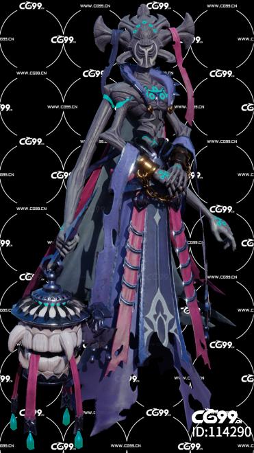 Overhit Demongate 女妖 女鬼 妖怪