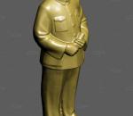 毛主席  雕像 伟人