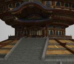 古代建筑道教宫殿