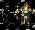 PBR 欧美 角色 游戏模型 狼族 恶狼 兽族战士