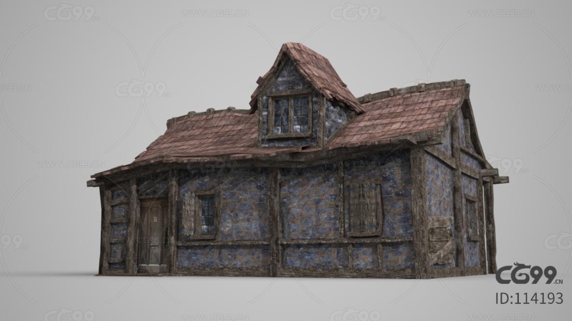古建筑瓦房