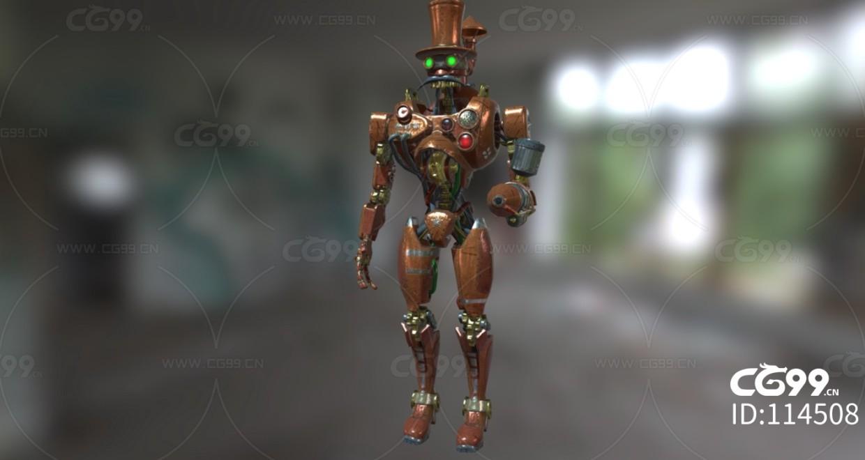 次时代PBR 未来 机械 机甲 机器人 战士