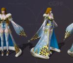 宫廷琴师 魔法少女 女祭司 冰霜法师 冰雪女王 冰霜皇后