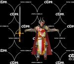 PBR 欧美 角色 游戏模型 领主 骑士