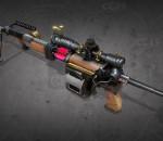 次时代PBR 写实 武器 枪械 轻型机枪