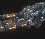 次时代PBR 未来 科幻 武器 枪械 激光炮 镭射炮